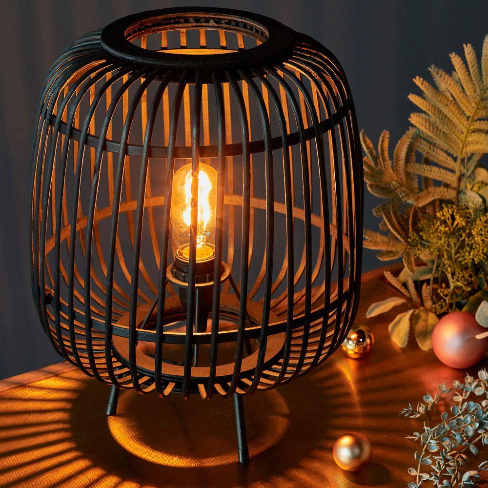 Epingle Par Melanie Grun Sur Design Deco En 2020 Bambou Noir Lampe A Poser Lampe Bambou