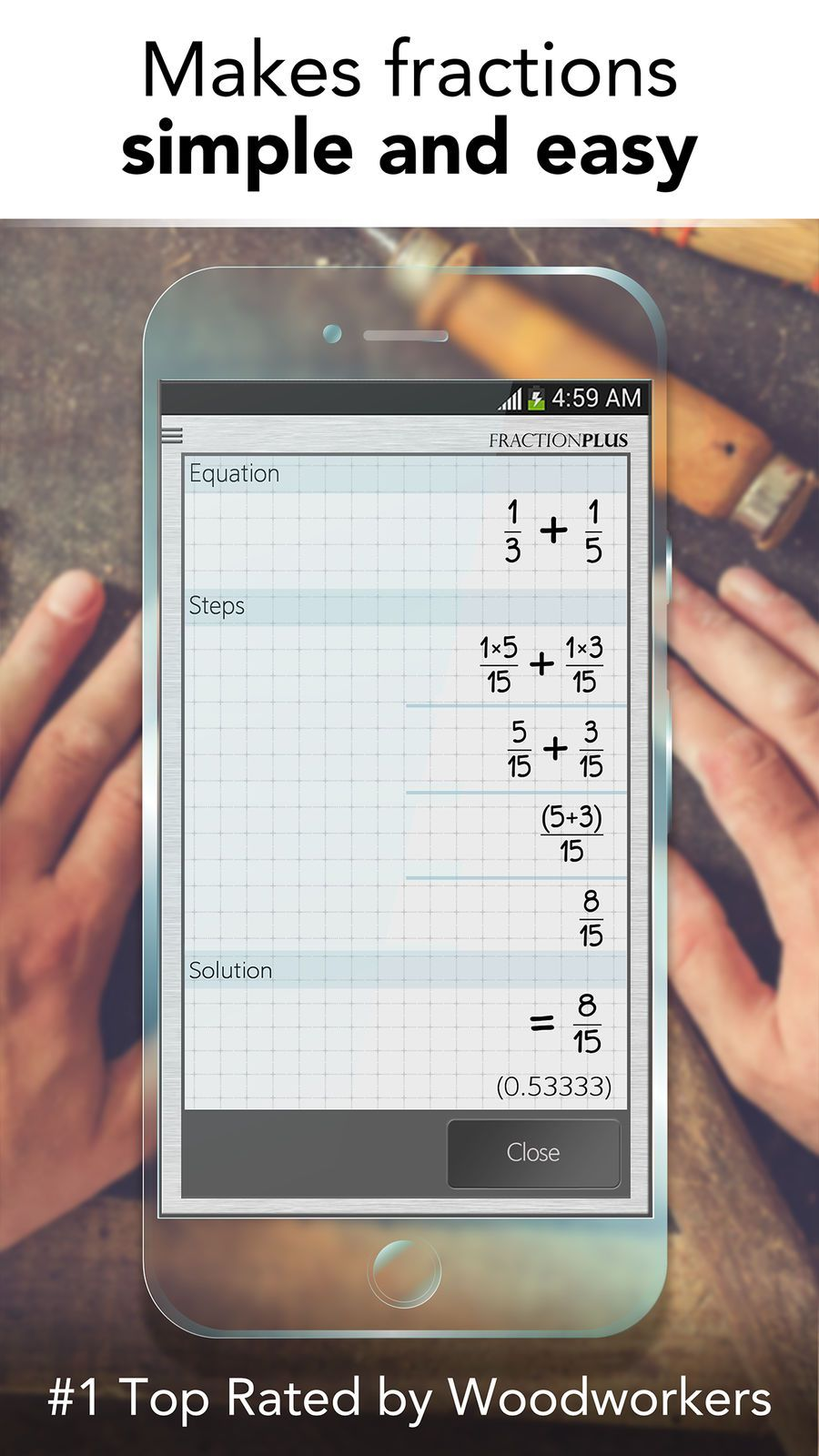 Fraction Calculator Plus Get It Right Every Time Education Productivity Apps Ios Productivity Apps Ios Apps Fractions