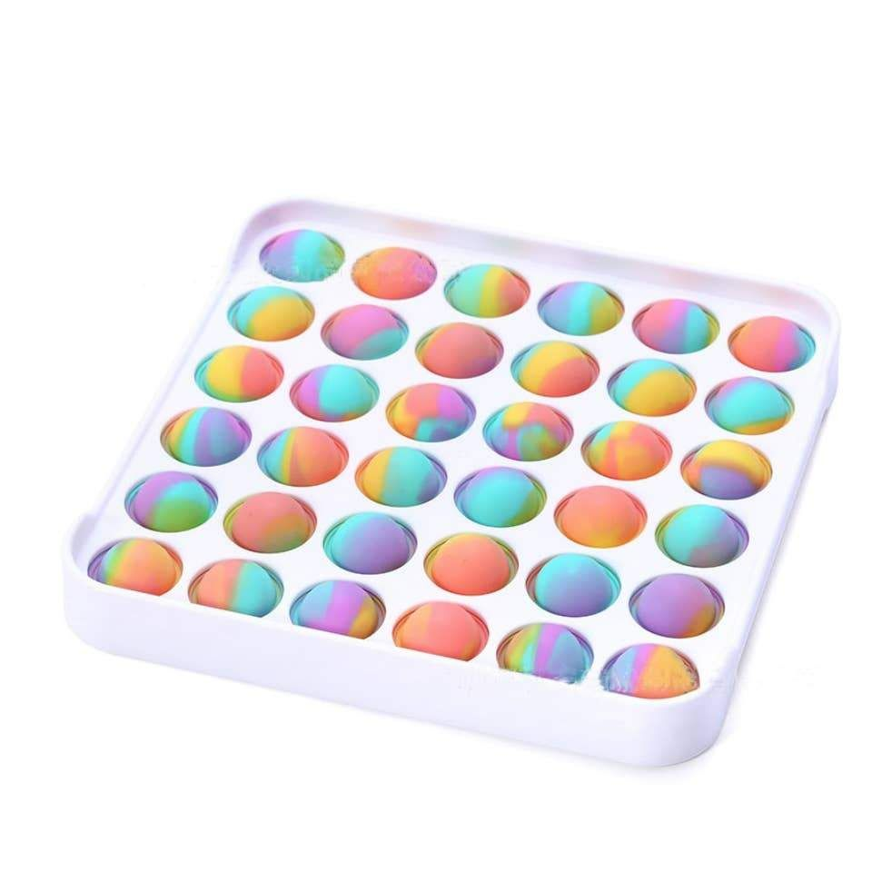 Bargain Bin - Damaged Packaging Only - Poptastic Marble Square Popper