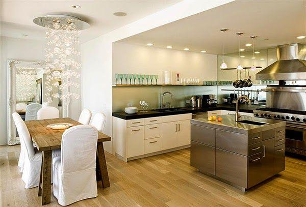 Cocinas Con Isla O Abiertas Al Salón Kitchen Design Open Interior Design Kitchen Contemporary Kitchen Cabinets