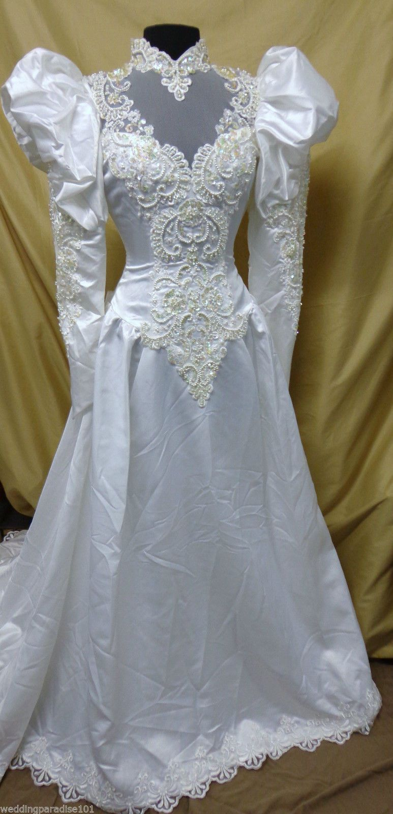 Vintage Wedding Dress Moonlight #7911 White Fits Size 2 Retail $810 ...