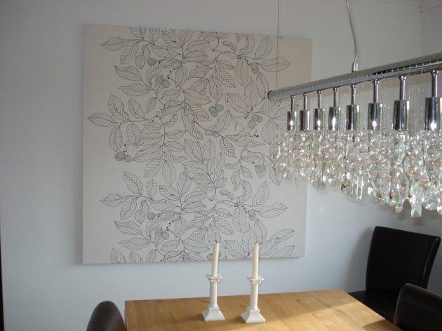 stoffbild, lampe