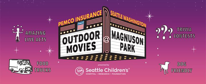 Outdoor Movies Seattle Movie In The Park Outdoor Cinema Movies