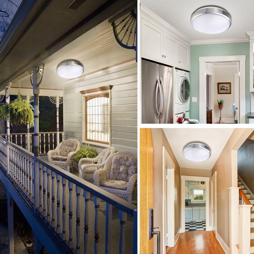 Lineway Outdoor Ceiling Stairway Basement Motion Sensor Lights Outdoor Light Fixtures Flush Mount Motion Lights Indoor