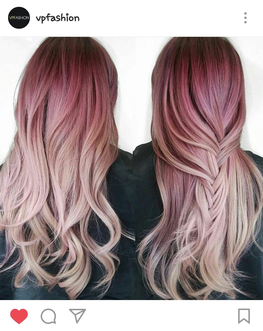 Pink Ombre Hair Hair Its On Your Head Pinterest Hair Hair