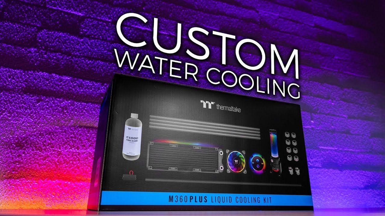 Thermaltake M360 Plus Liquid Cooling Kit Unboxing Kit