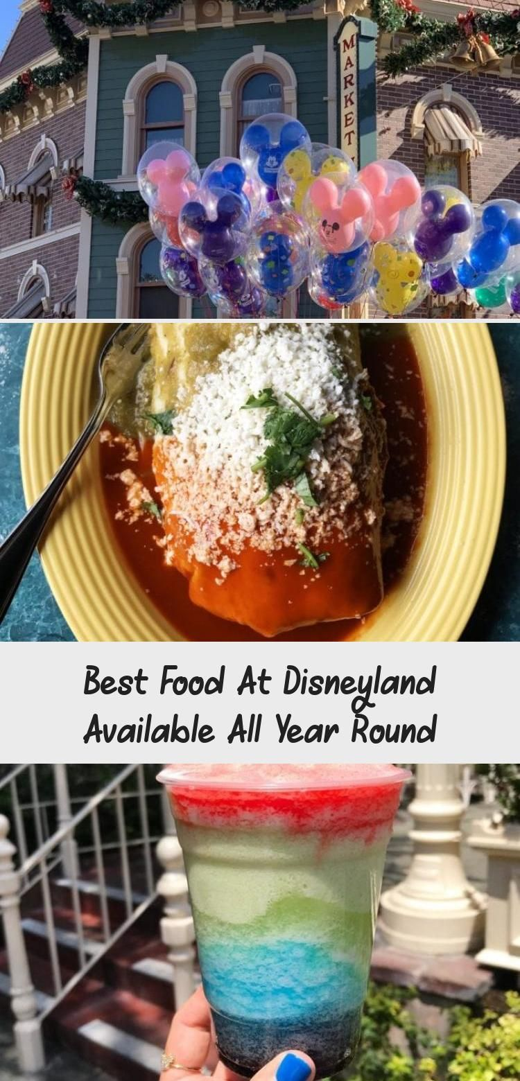 Best Food At Disneyland Available All Year Round #disneylandfood