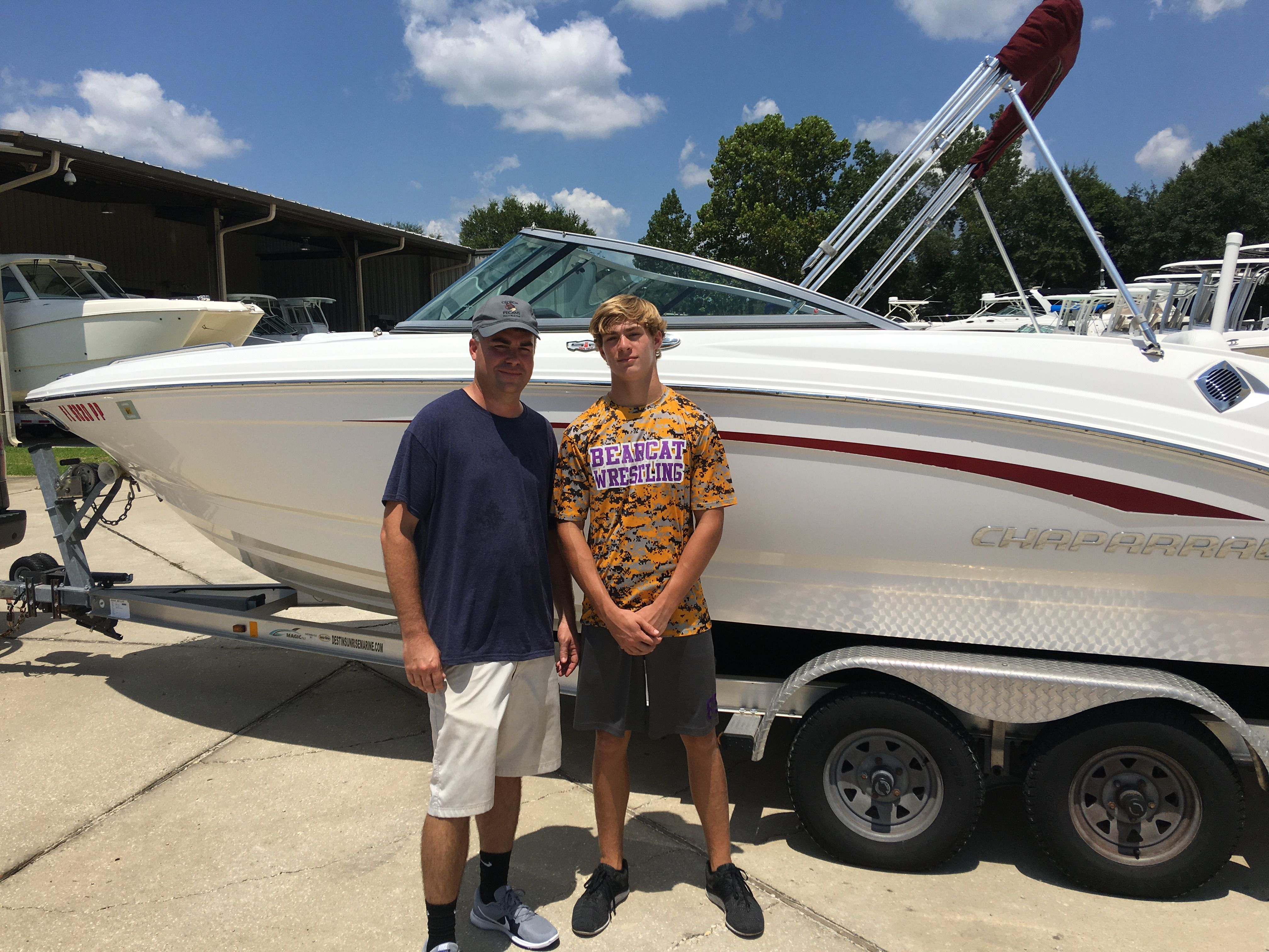 Pin by Sunrise Marine on Congratulations on your new boat