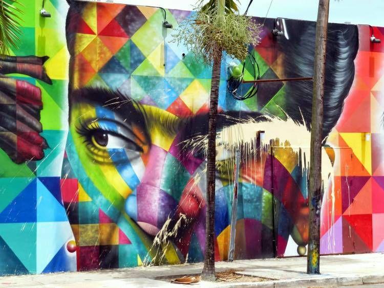 Frida Kahlo Eduardo Kobra Photo Vidos Mai  Street