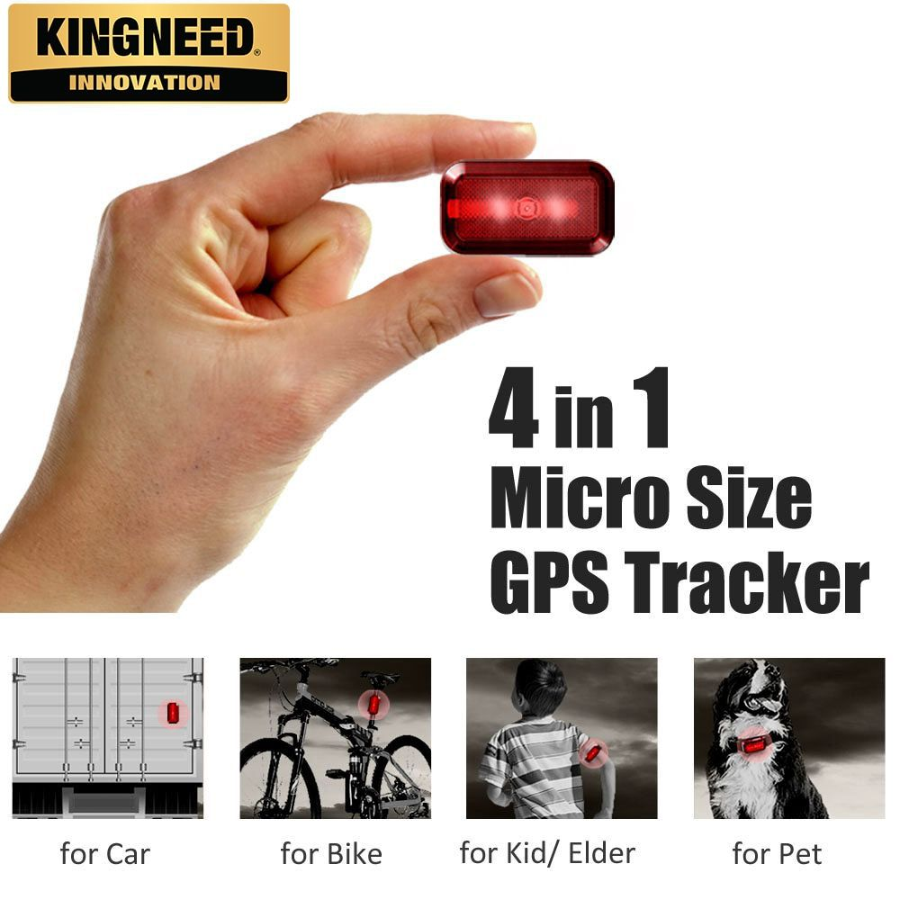 Kingneed T630 Mini Micro Hidden Pet Kids Dog Cat Personal Card
