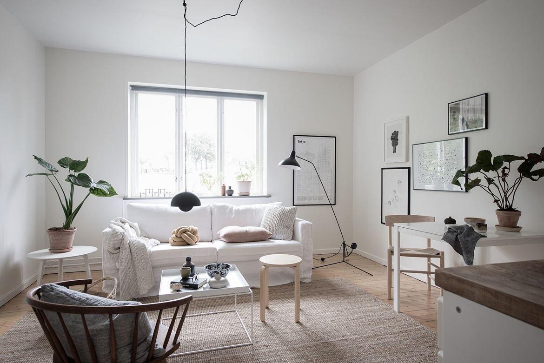 simple home with a soft look via coco lapine design blog - Scandinavian Design Blogs