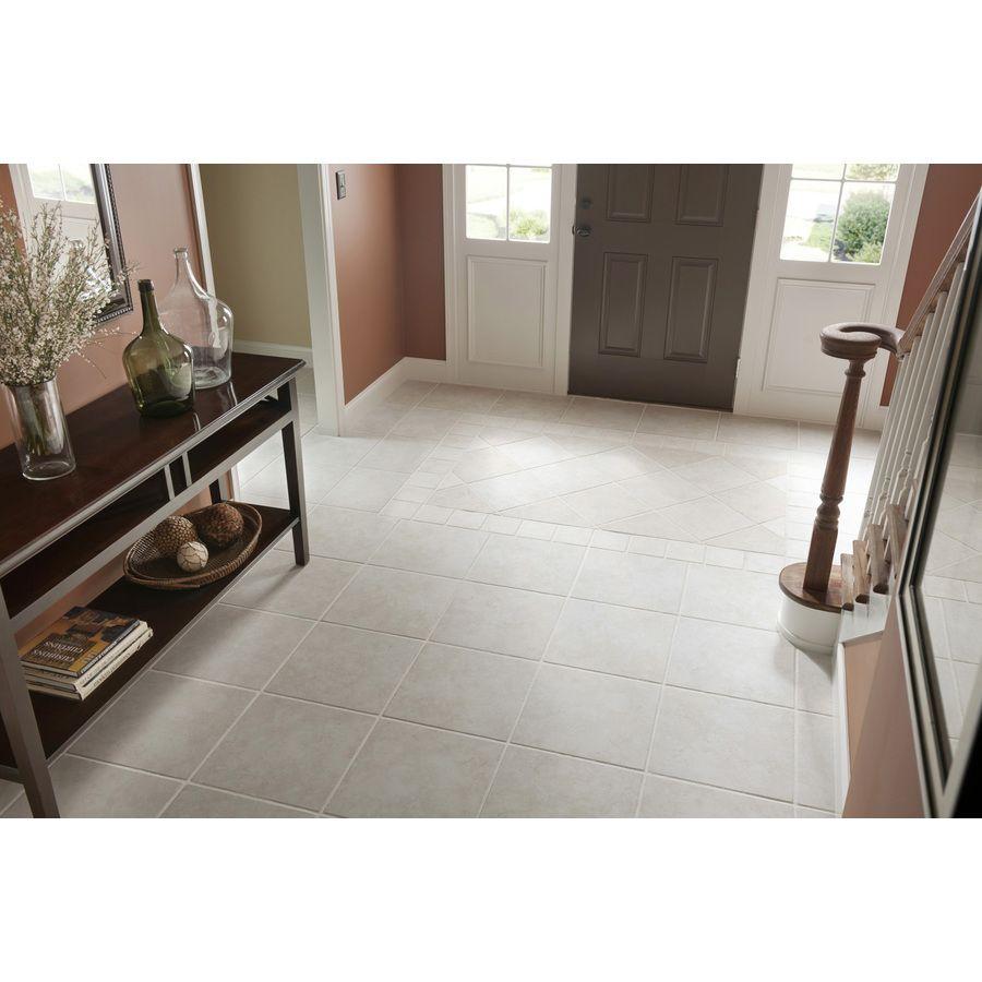 Shop Del Conca Rialto White Thru Body Porcelain IndoorOutdoor Floor