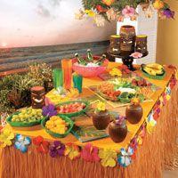 Escape To Paradise 10 Easy Luau Party Ideas