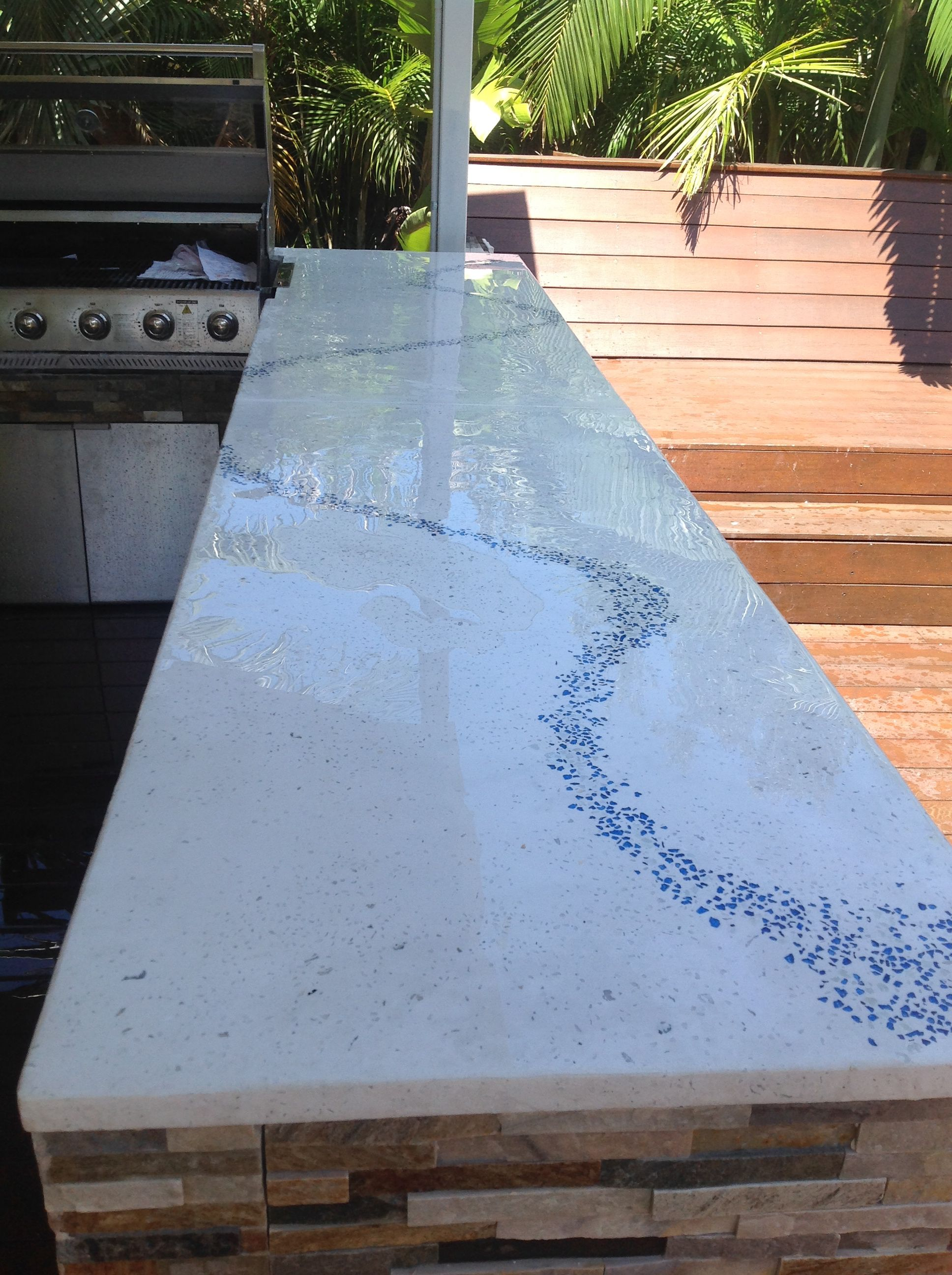 Polished Concrete Benchtops