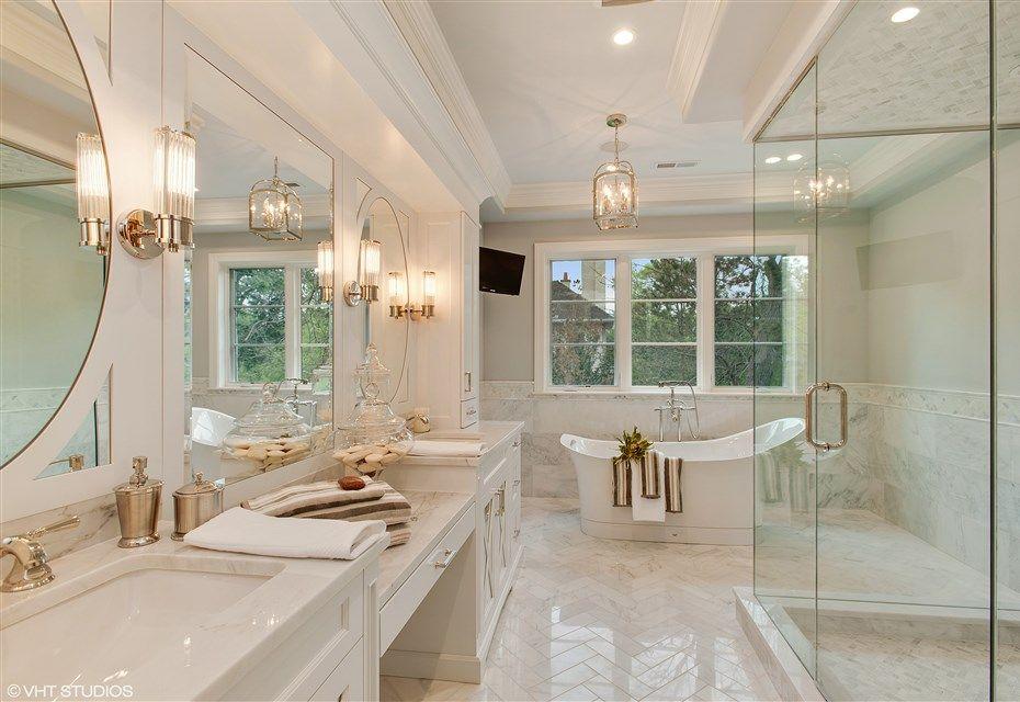 Luxury White Bathroom Photos Of Luxury Homes By Heritage Luxury Builders