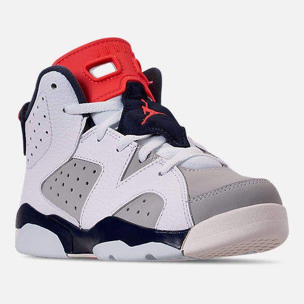 bca21ac7343e Little Kids  Air Jordan Retro 6 Basketball Shoes in 2018