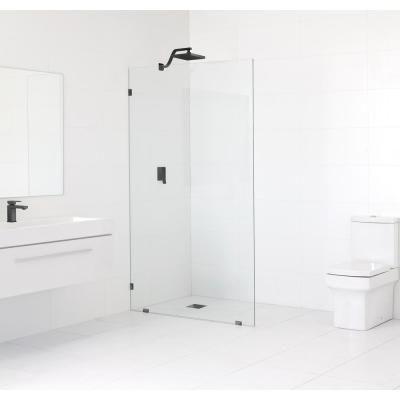 Glass Warehouse 47 In X 78 In Frameless Fixed Shower Door In
