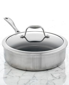 Zwilling Spirit Ceramic Nonstick 3 Qt Covered Saute Pan Cooking For A Group Girl Cooking Cooking For Two