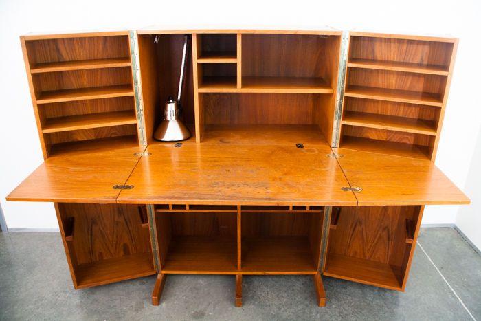 Fold out store vintage antique furniture dealer furniture in