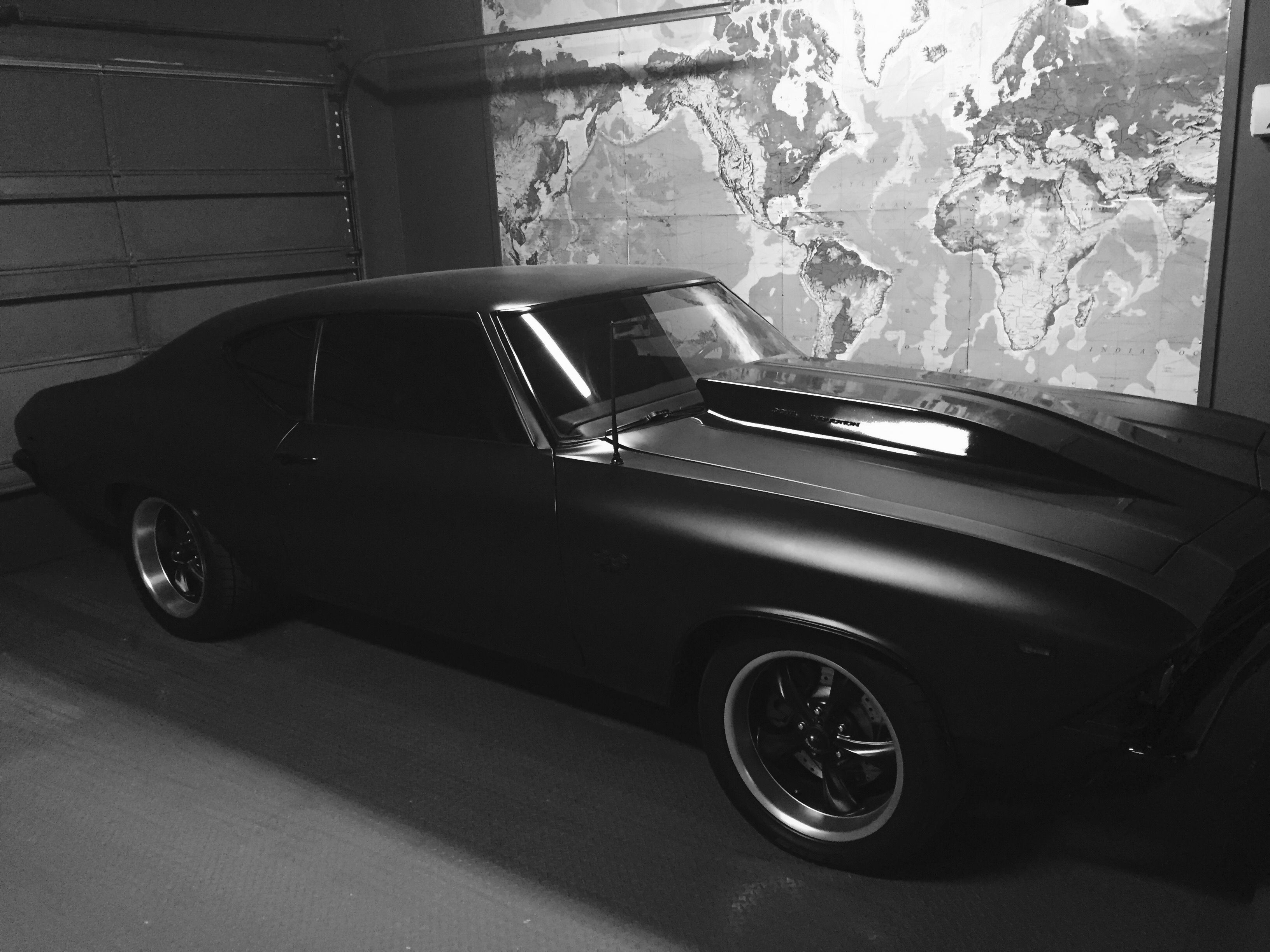 Murdered out 1969 Chevelle SS