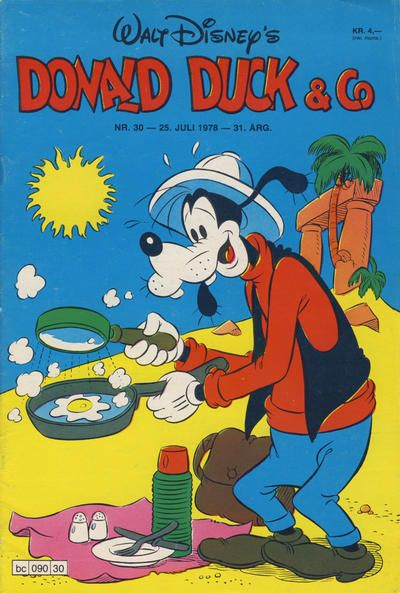 Cover for Donald Duck & Co (1948 series) #30/1978