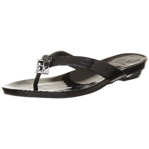 30dd965a381 Calvin Klein - Sandalias de piel para mujer  Amazon.es  Zapatos y  complementos