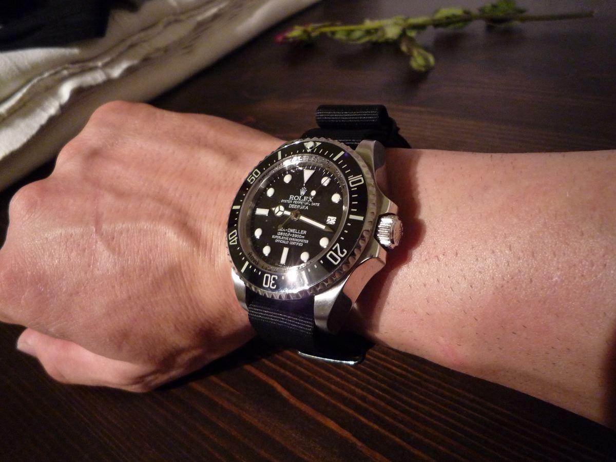 Rolex Deepsea Sea Dweller Thema Zeigt Eure Uhren Mit