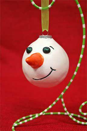 Dress up a plain ornament with Crayola Model Magic®, paint ...