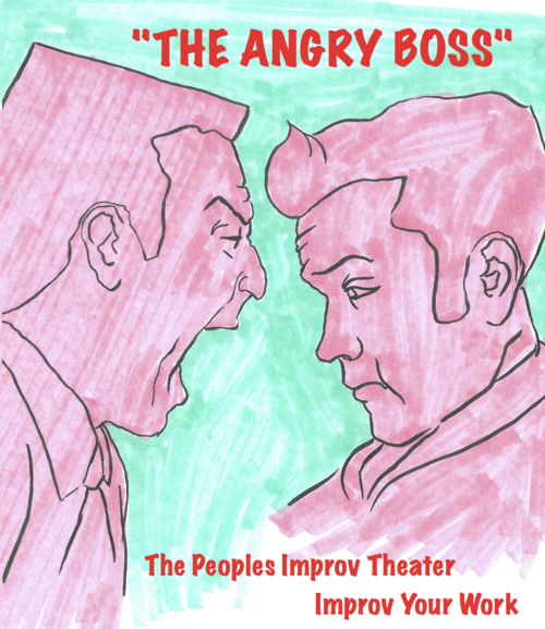 """Cartoons: Coworkers We Hate - """"The Angry Boss"""""""