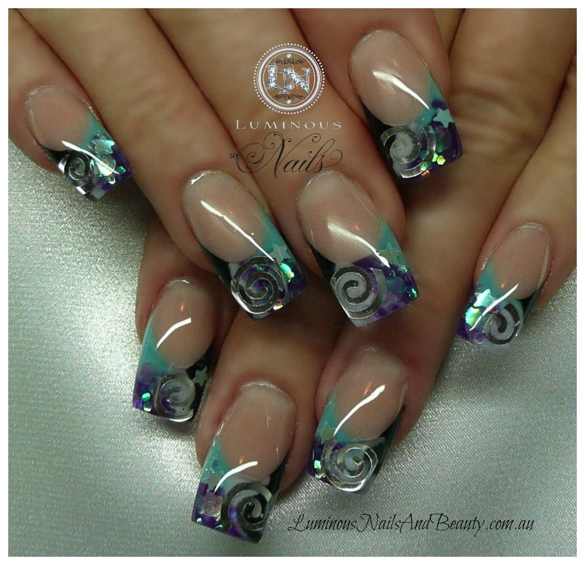 Rockstar Gel Nails Nails-and-beauty-gold-coast-queensland.-acrylic-nails-gel-nails . Nail