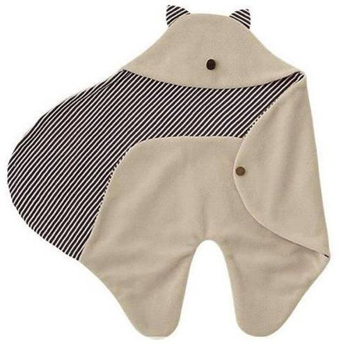 Baby Swaddle Blanket Wrap With Hood 0-18 Months