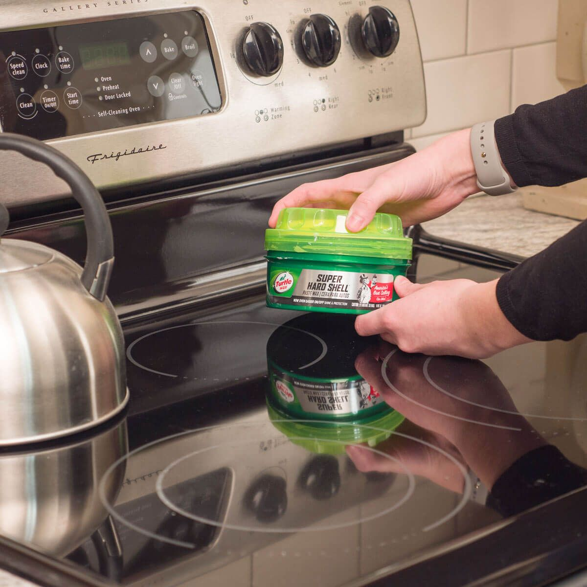 use car wax in your kitchen cleaning tips stainless steel kitchen appliances cleaning hacks. Black Bedroom Furniture Sets. Home Design Ideas