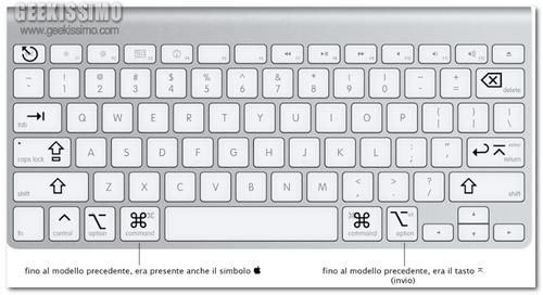 Le 20 Migliori Scorciatoie Da Tastiera Per Mac Os Snow Leopard Video Tutorial Geekissimo Mac Keyboard Shortcuts Macbook Keyboard Keyboard