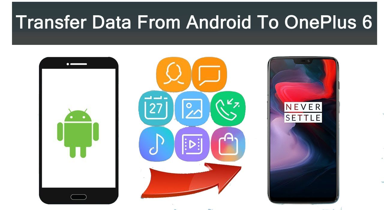 How To Transfer Files And Apps Data From Any Android To