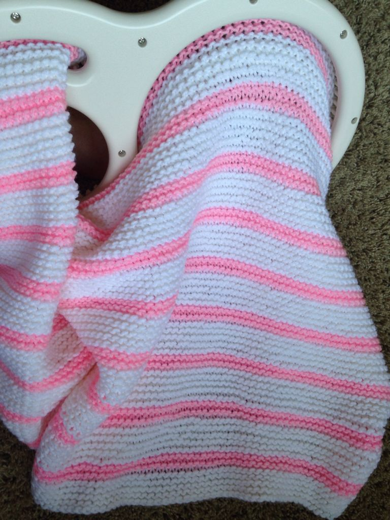 Knitting Loom Patterns Baby Blanket : Loom knitted blanket by Karen Inman This was done entirely in pearl stitch. I...