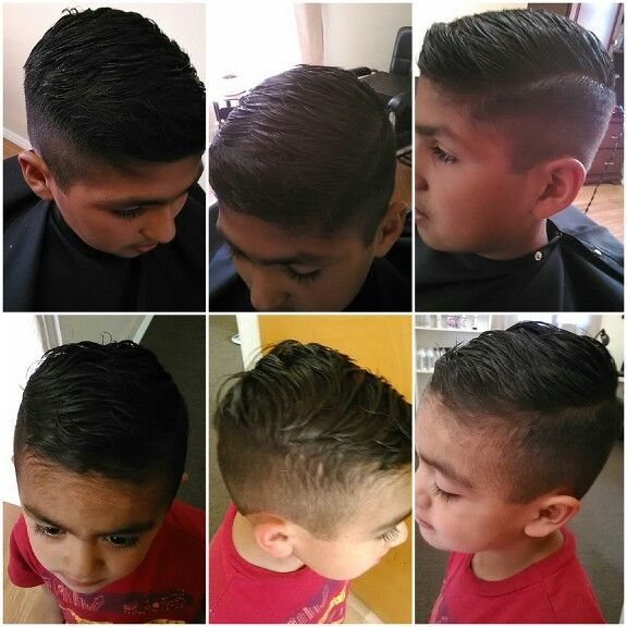 2 Boys Hipster Fade Haircut (hard part) | Ciao Bella Spa ...