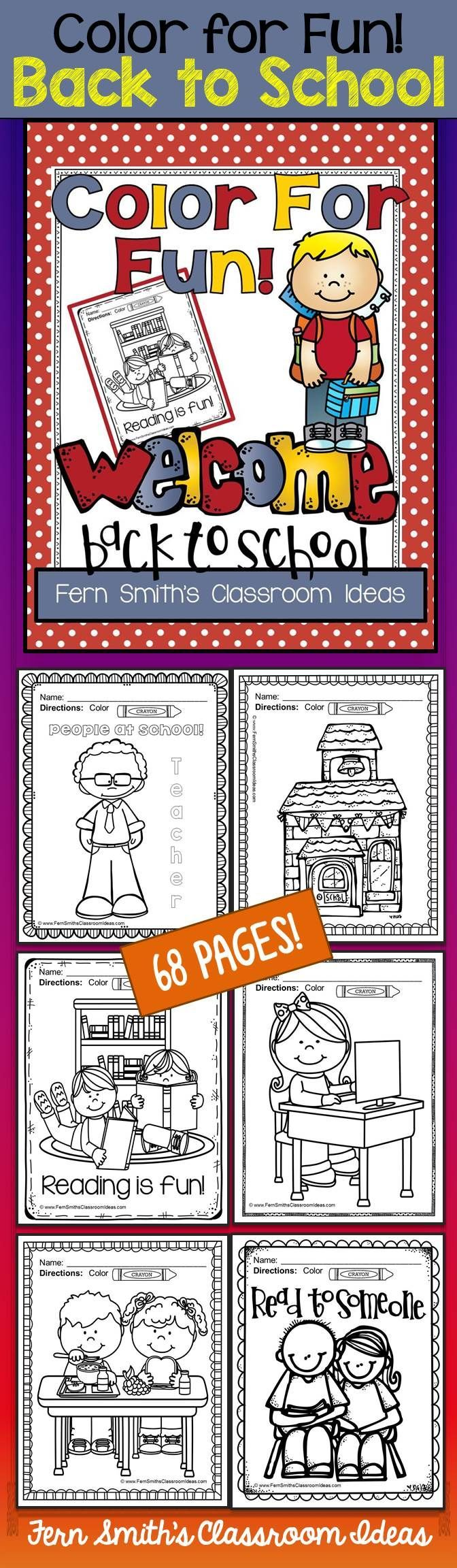 Back to school coloring pages best parent volunteers writing