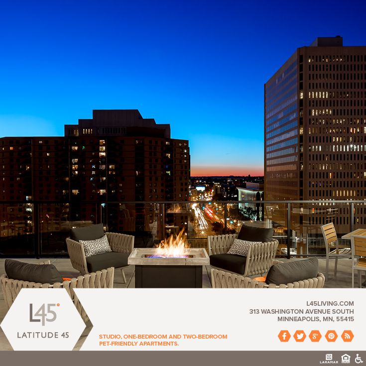 1 Bedroom Apartments Minneapolis: Latitude 45, The Newest Downtown Apartment Community