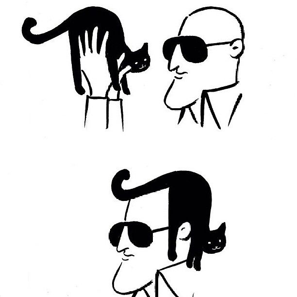 Simple but clever animal comics by Shanghai Tango. #boredpanda