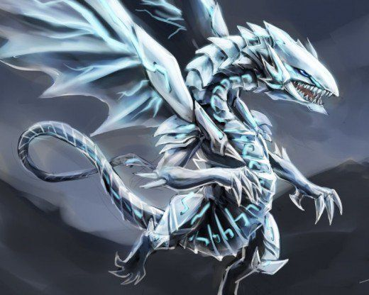 10 Awesome Fan Artworks Of The Most Famous Yu Gi Oh Cards Yugioh Dragons White Dragon Dragon Art