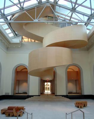 Art Gallery of Toronto Stair case