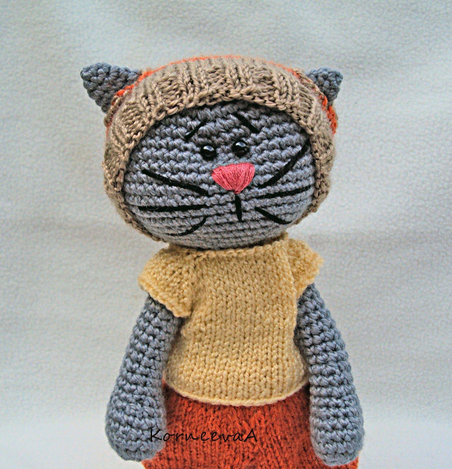 amigurumi cat cosy friends pinterest h keln stricken und katzen h keln. Black Bedroom Furniture Sets. Home Design Ideas