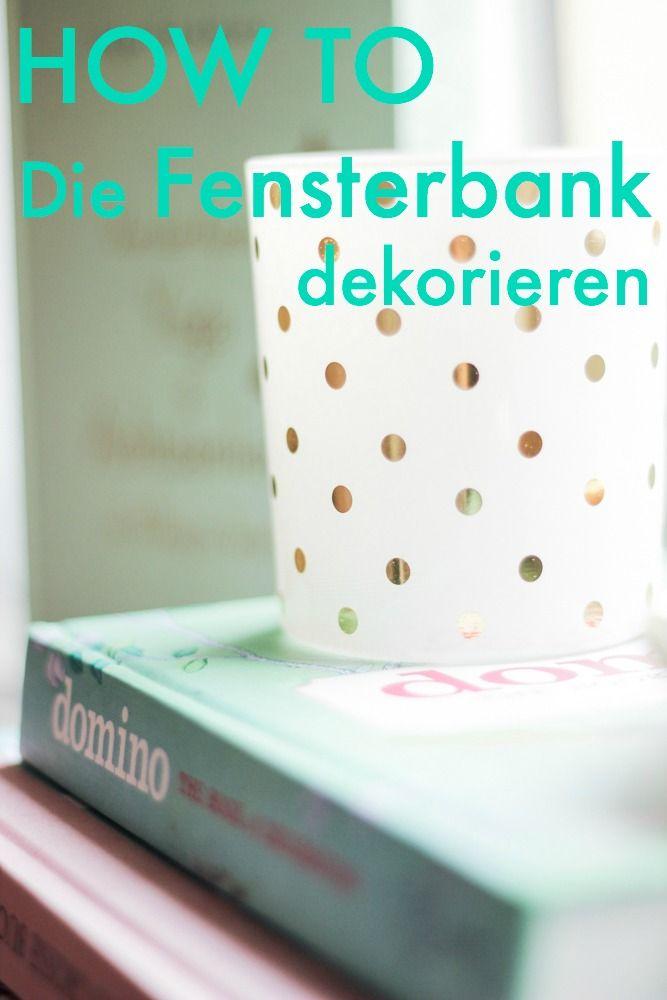 How to die fensterbank h bsch dekorieren lifestyletipps for Dachgeschosswohnung dekorieren