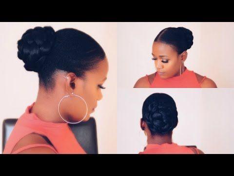 Slick Back Short Natural Hair 4c Hair Youtube Natural Hair Styles Hair Styles Short Natural Hair Styles