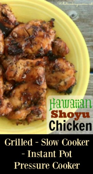 Hawaiian Shoyu Chicken Recipe
