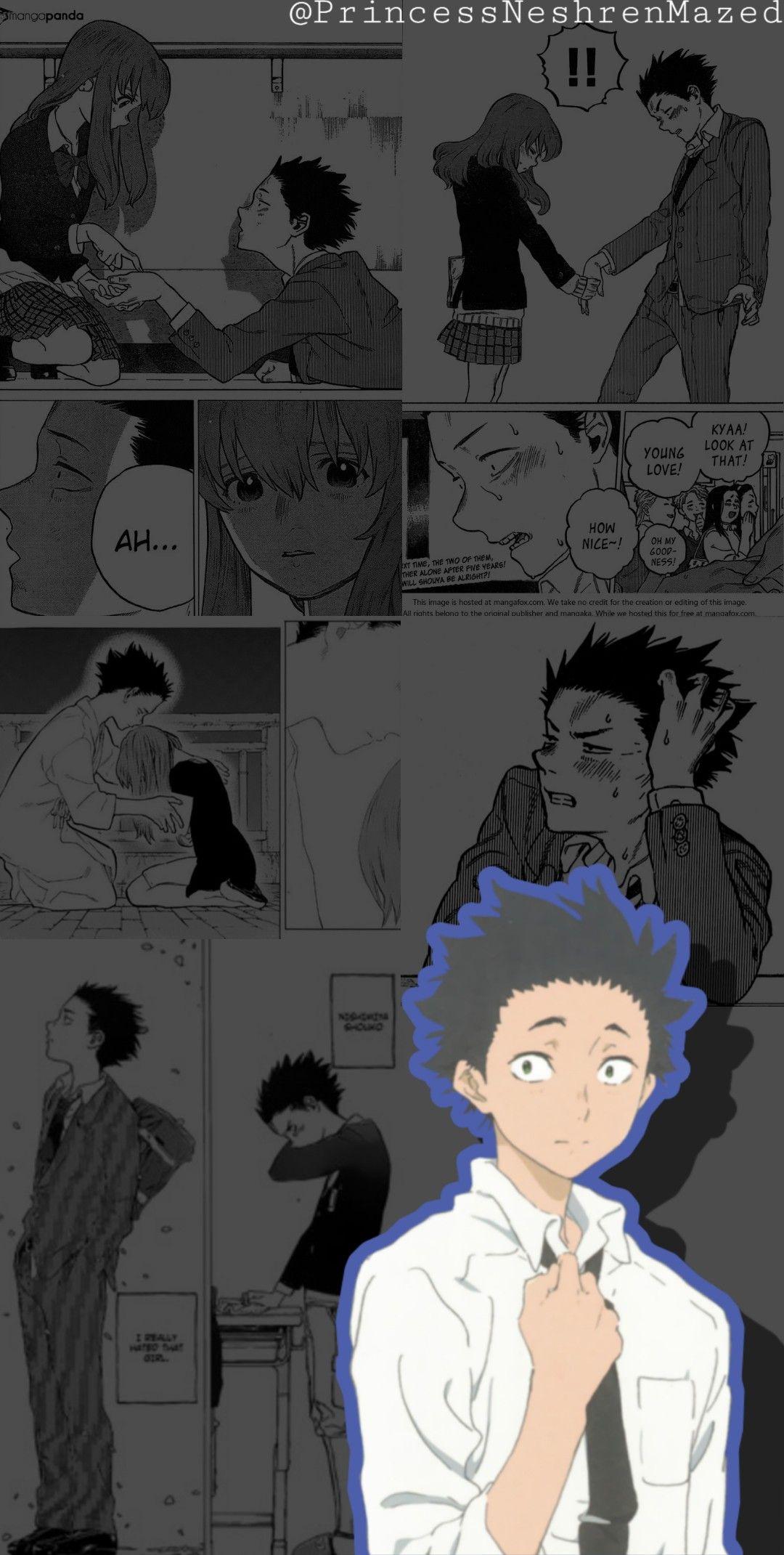 Shoya Ishida • a silent voice wallpaper