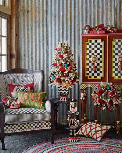 46 Best Farmhouse Home Decor Ideas You Will Totally Love: Mackenzie's Child Christmas