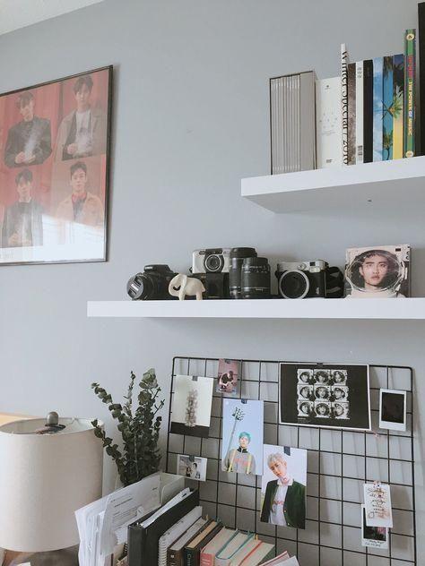 #bnw  #europe  #blackandwhite  #instagood  #minimal  #fashion  #home  #art  #interiordesign  #dekorasirumah  #decoration  #architettura  #madeinitaly  #urban  #sale #Ideas #Decor - 23+ Best Ideas Decor Room Kpop