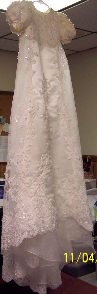 This is over the top exotic baptismal gown and i love it. heirloom ...