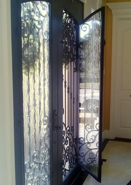 Open Front Door From Inside our iron doors aren't just beautiful, they are functional, too